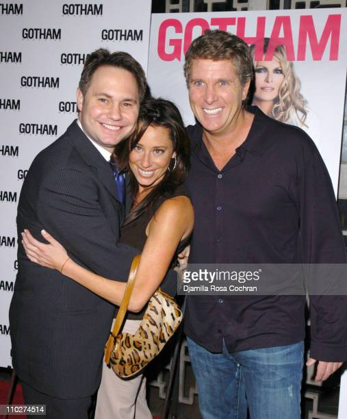 Jason Binn Amanda Zacharia and Donny Deutsch during Larry King and Gotham Magazine Celebrate Shawn King's New Album In My Own Background at Lotus in...