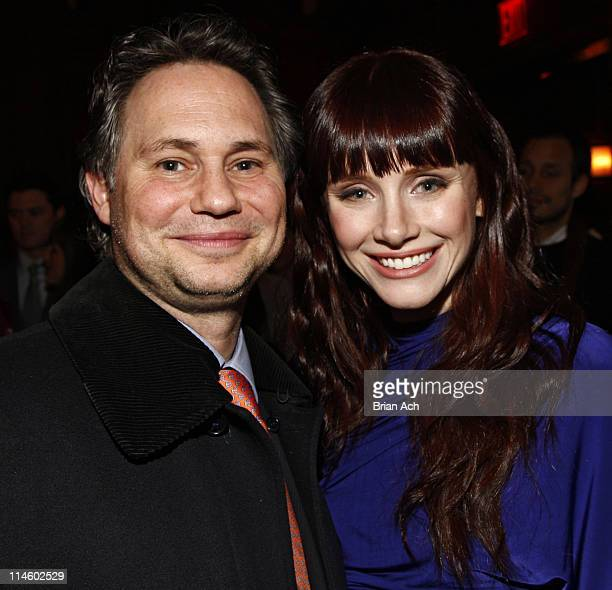 Jason Binn and actress Bryce Dallas Howard attend the NY Premiere of The Loss of a Teardrop Diamond afterparty hosted by Gotham Magazine and Paladin...