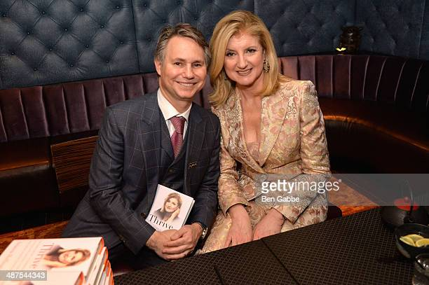 Jason Binn and Arianna Huffington attend DuJour Magazine's Jason Binn along with Lisa And James Cohen celebration of Arianna Huffington's bestseller...