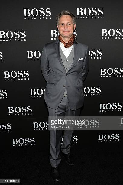 Jason Binn attends HUGO BOSS celebrates Columbus Circle BOSS flagship opening featuring premiere of 'Anthropocene' by Marco Brambilla on September 24...