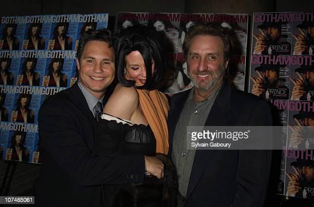 Jason Binn, Catherine de Castelbajac, Ron Silver during Gotham Magazine Celebrates 1st Anniversary at The Regent Ballroom in New York, New York,...