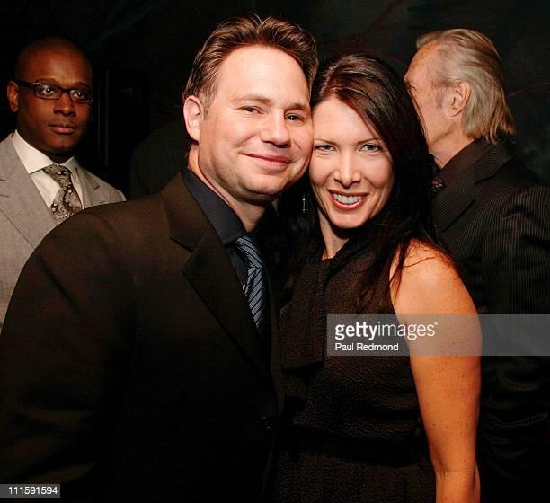 Jason Binn CEO of Niche Media and Annie Carradine