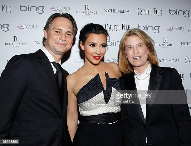 Jason Binn Kim Kardashian and Greta Van Susteren arrive to Jason Binn's Niche Media's WHCAD after party with Bing at the Renaissance Washington DC...