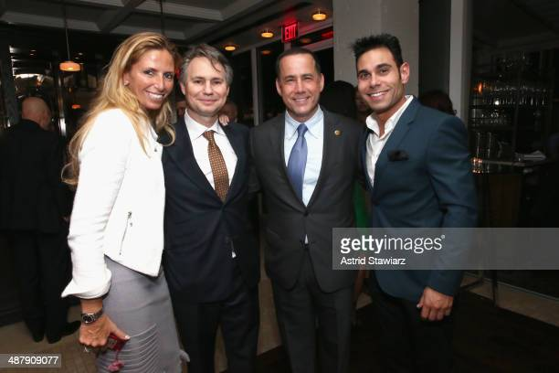 Jason Binn Mayor Philip Levine and Eric Podwall attend the Dom Perignon and Eric Podwall celebration of the evening before The White House...