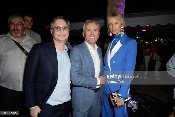 Jason Binn Paul Chevalier and Karolina Kurkova attend DuJour's Jason Binn And WellNEST Celebrate Miami Beach's Art Basel KickOff at The Confidante on...