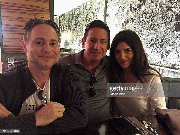 Jason Binn President and COO at Fontainebleau Miami Beach Phil Goldfarb Major Accounts Manager at Houston Chronicle Jeana Stone circa April 2016 in...