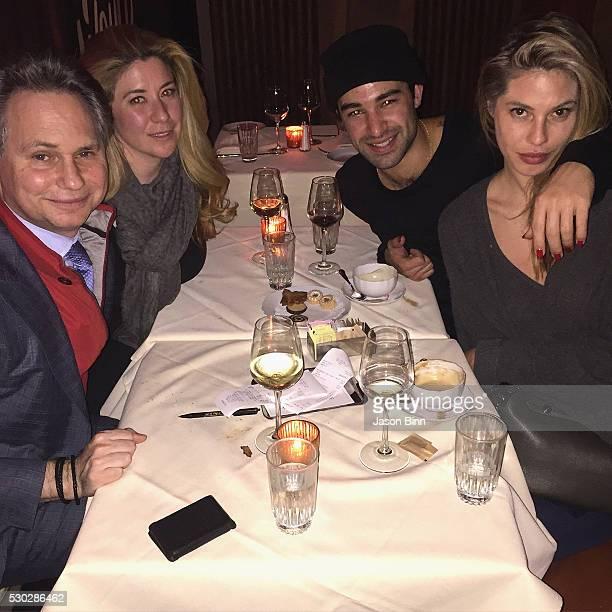 Jason Binn Rachel Ash CoFounder of 2CURATE Vinny Catalano and Ashley M Harris circa March 2016 in New York City