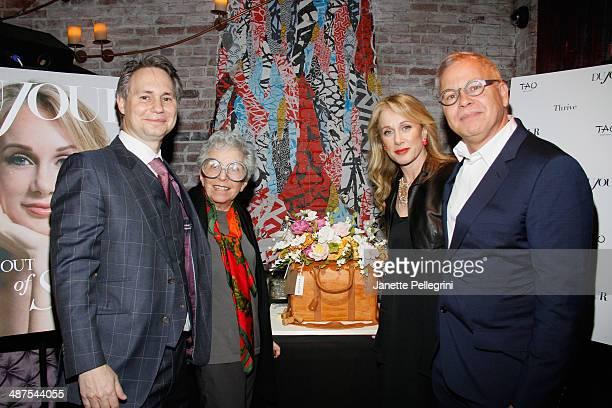 Jason Binn Sylvia Weinstock Pauline Brown and Marshall Brown attend Jason Binn and DuJour Magazine's surprise birthday party for Pauline Brown...