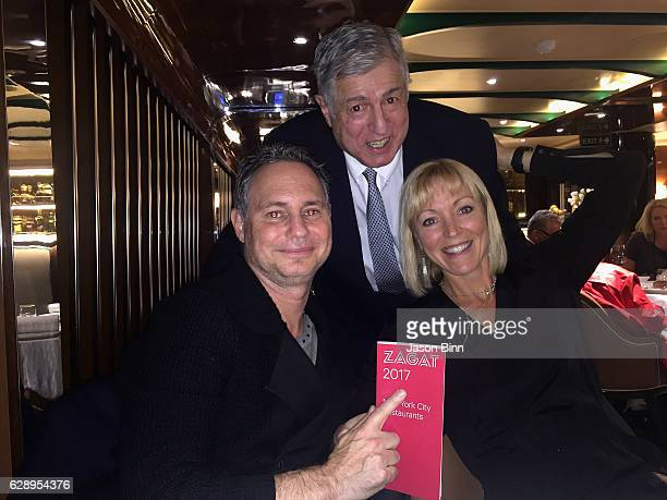 Jason Binn Zagat Restaurant Surveys Founder Tim Zagat Guest circa October 2016 in New York City