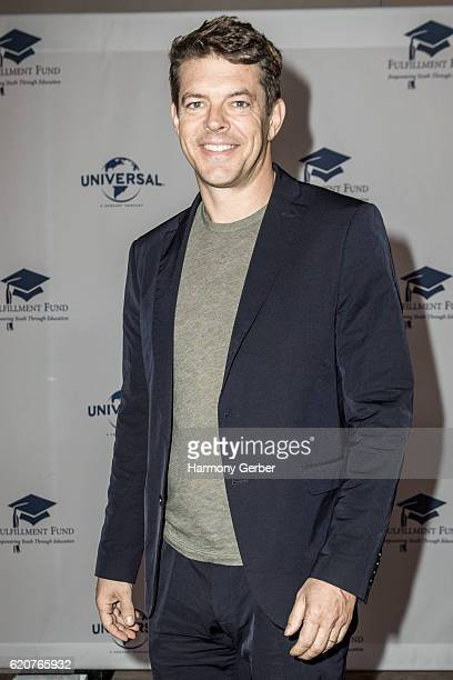 Jason Blum arrives at the 22nd Fulfillment Fund Stars Benefit Gala at The Globe Theatre at Universal Studios on November 2 2016 in Universal City...