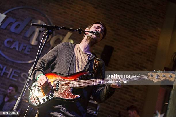 Jason Boland of Kodaline perform for the Absolute Radio Presents the road to Hard Rock Calling session at Hard Rock Cafe on May 30, 2013 in...