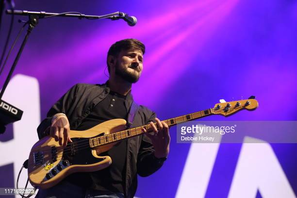 Jason Boland of Kodaline performs on stage during Electric Picnic Music Festival 2019 at Stradbally Hall Estate on September 1, 2019 in Stradbally,...