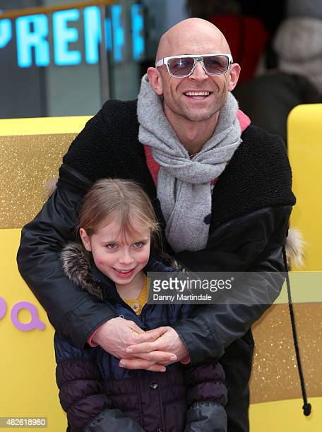 Jason Bradbury attends the premeire of 'Peppa Pig The Golden Boots' at Odeon Leicester Square on February 1 2015 in London England