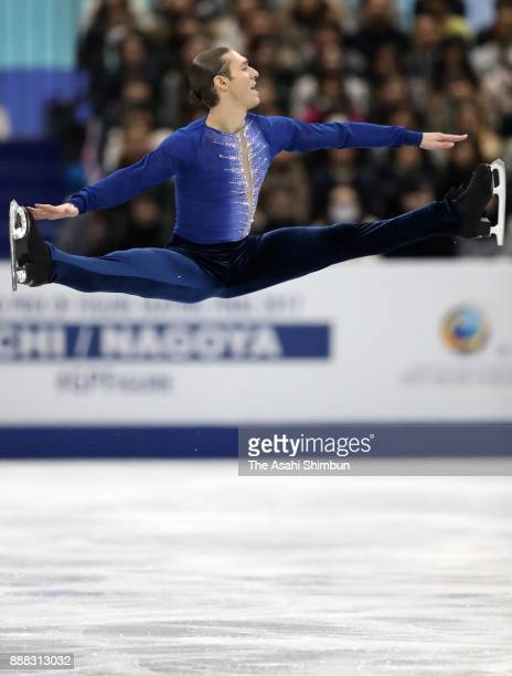 Jason Brown of United States competes in the Men's Singles Free Skating during day two of the ISU Junior Senior Grand Prix of Figure Skating Final at...