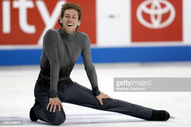 Jason Brown skates in the Men's Free Skate during the 2020 U.S. Figure Skating Championships at Greensboro Coliseum on January 26, 2020 in...