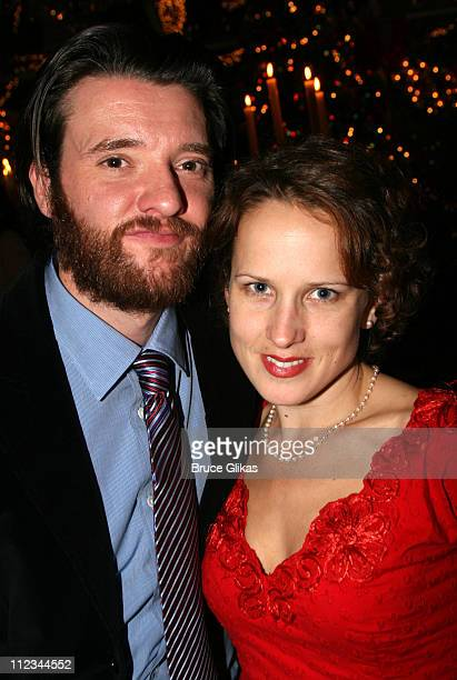 Jason Butler Harner and Jennifer Dundas during Opening Night of Tom Stoppard's The Coast of Utopia Voyage at Tavern On The Green in New York NY...