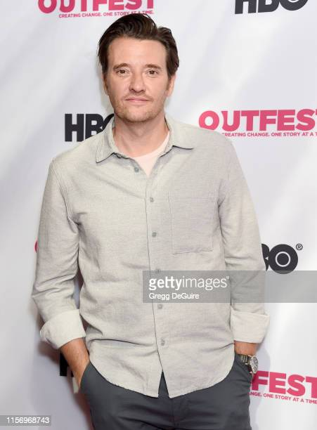 Jason Butler Harner attends the 2019 Outfest Los Angeles LGBTQ Film Festival Screening Of Sell By at TCL Chinese Theatre on July 20 2019 in Hollywood...