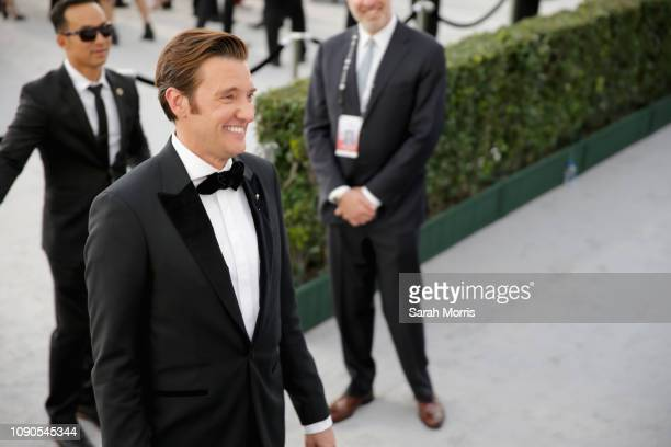 Jason Butler Harner attends the 25th Annual Screen ActorsGuild Awards at The Shrine Auditorium on January 27 2019 in Los Angeles California