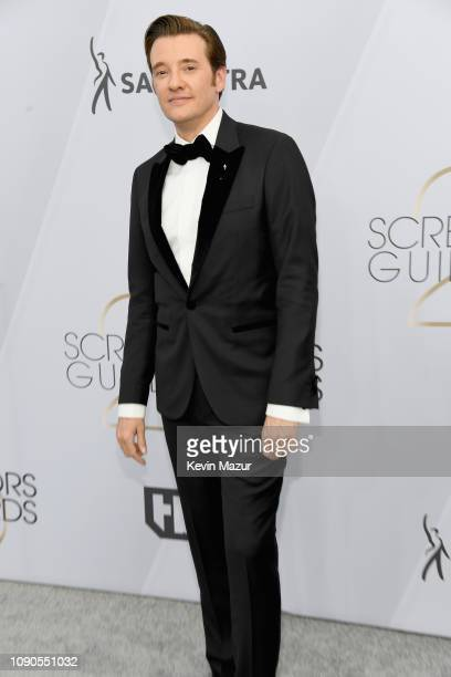 Jason Butler Harner attends the 25th Annual Screen ActorsGuild Awards at The Shrine Auditorium on January 27 2019 in Los Angeles California 480568
