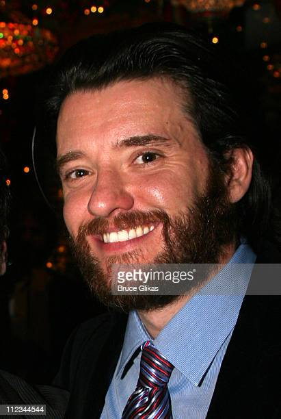 Jason Butler Harner during Opening Night of Tom Stoppard's The Coast of Utopia Voyage at Tavern On The Green in New York NY United States