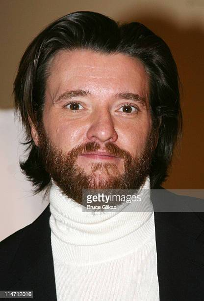 Jason Butler Harner during Shipwreck The Coast of Utopia Part 2 Opening Night Party at Avery Fisher Hall in New York City New York United States