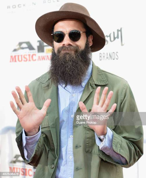 Jason Butler of Letlive attends the 2014 Gibson Brands AP Music Awards at the Rock and Roll Hall of Fame and Museum on July 21 2014 in Cleveland Ohio