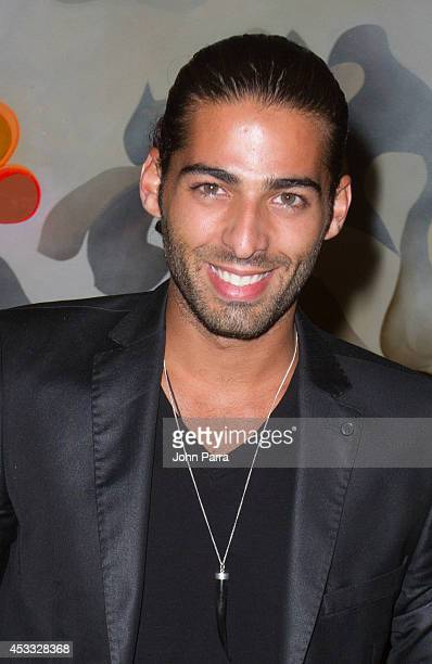 Jason Canela attends Juan Pablo Galavis birthday bash party at Flamingo Theater Bar on August 7 2014 in Miami Florida