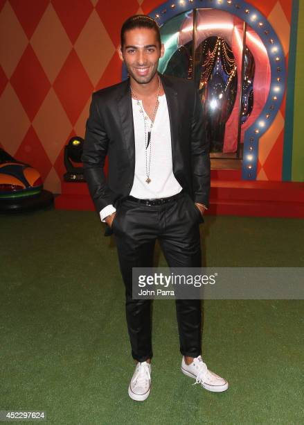 Jason Canela attends the Premios Juventud 2014 at The BankUnited Center on July 17 2014 in Coral Gables Florida