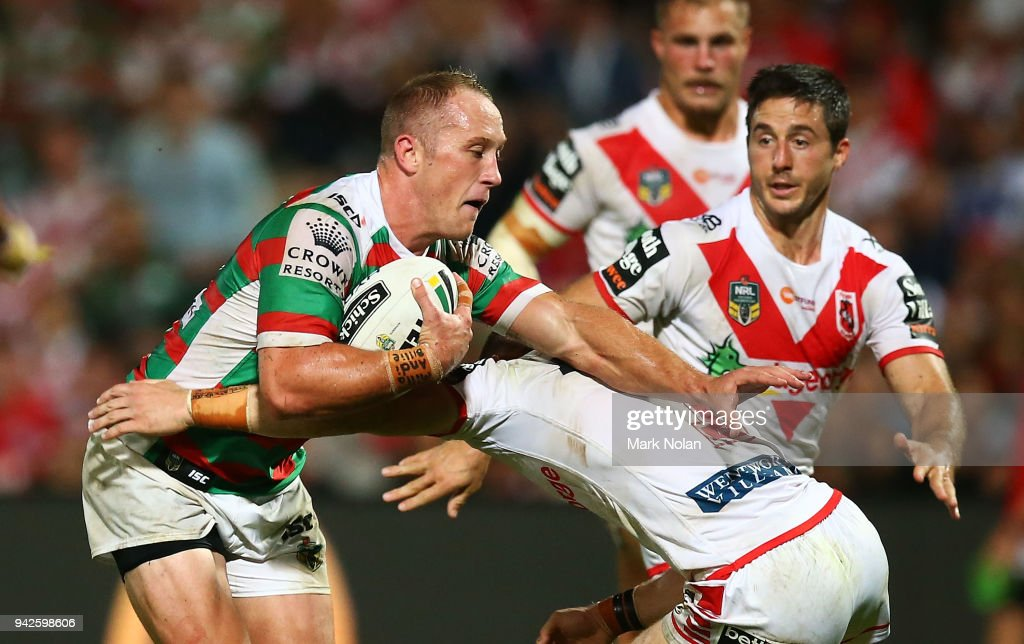 NRL Rd 5 - Dragons v Rabbitohs