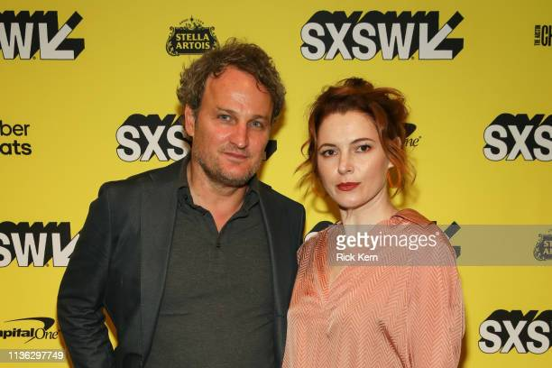 Jason Clarke and Amy Seimetz attend the World Premiere and Closing Night Screening of 'Pet Sematary' at the 2019 SXSW Film Festival on March 16 2019...