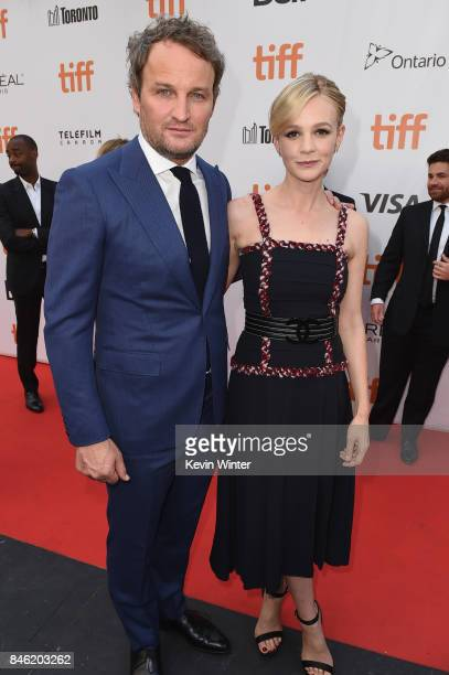 Jason Clarke and Carey Mulligan attend the Gala Presentation of Mudbound at the 2017 Toronto International Film Festival at Roy Thomson Hall in...
