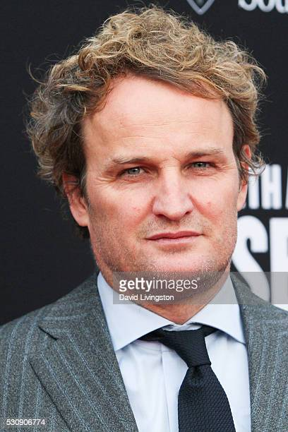 Jason Clarke arrives at the 3rd Biennial Rebels with a Cause Fundraiser on May 11 2016 in Santa Monica California
