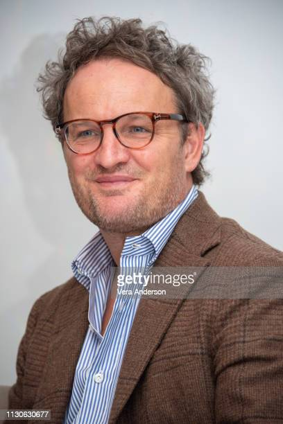 Jason Clarke at 'The Aftermath' Press Conference at Dorchester Hotel on February 18 2019 in London England