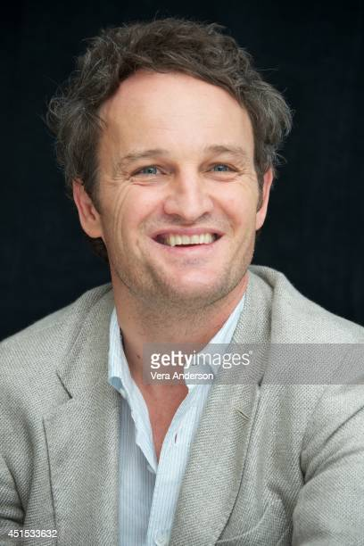 Jason Clarke at the Dawn Of The Planet Of The Apes Press Conference at the Ritz Carlton Hotel on June 27 2014 in San Francisco California