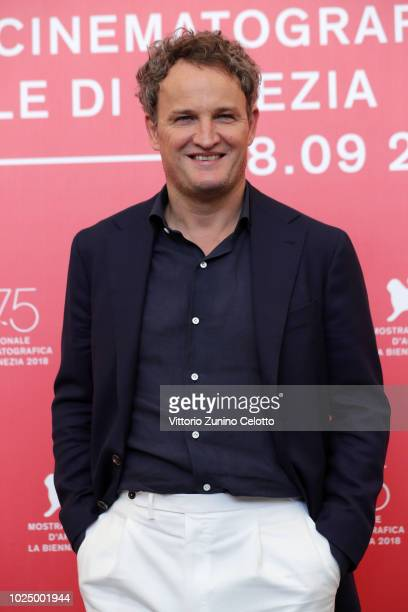 Jason Clarke attends 'First Man' photocall during the 75th Venice Film Festival at Sala Casino on August 29 2018 in Venice Italy