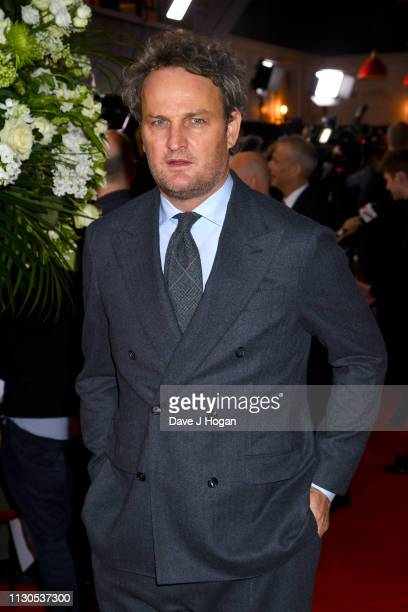 Jason Clarke attends The Aftermath World Premiere held at The Picturehouse Central on February 18 2019 in London England