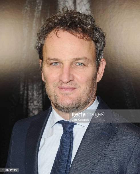 Jason Clarke attends the Los Angeles premiere Winchester at Cinemark Playa Vista on February 1 2018 in Los Angeles California