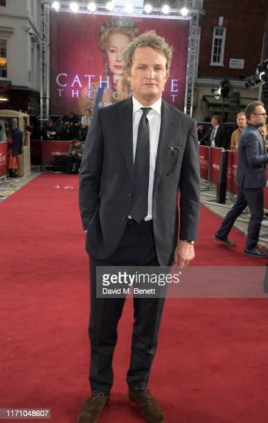 """Jason Clarke attends the Premiere Screening of new Sky Atlantic drama """"Catherine The Great"""" at The Curzon Mayfair on September 25, 2019 in London,..."""