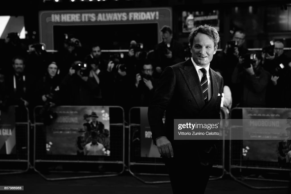 Jason Clarke attends the Royal Bank of Canada Gala & European Premiere of 'Mudbound' during the 61st BFI London Film Festival on October 5, 2017 in London, England.