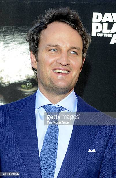 Jason Clarke poses at the premiere of 20th Century Fox's Dawn of the Planet of the Apes at the Palace Of Fine Arts Theater on June 26 2014 in San...