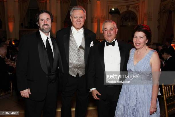 Jason Cohen Richard Williamson Frank Viley and Linda Apante attend BALLET HISPANICO'S 40th Anniversary Spring Gala at The Plaza on April 19 2010 in...