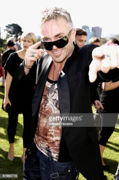 Jason Coleman attends the Opening Night Party for the 2010 L'Oreal Melbourne Fashion Festival at Government House on March 14 2010 in Melbourne...
