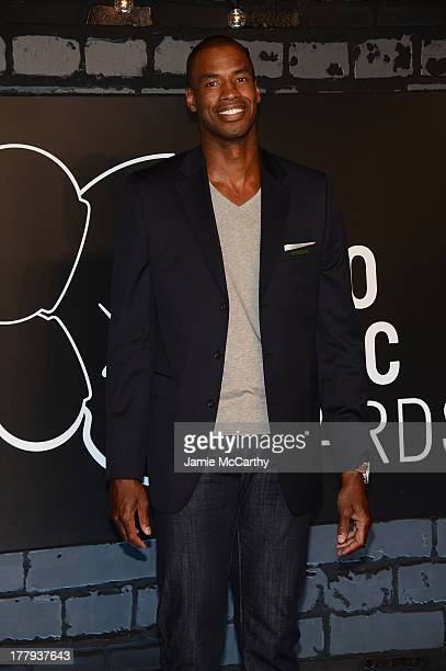 Jason Collins attends the 2013 MTV Video Music Awards at the Barclays Center on August 25 2013 in the Brooklyn borough of New York City