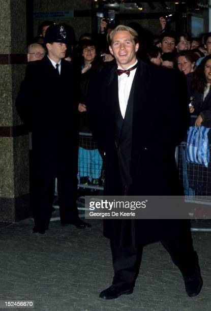 Jason Connery attends the premiere of 'When Harry Met Sally' in London on November 11 1989