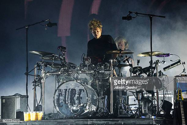 Jason Cooper of The Cure performs on Day 3 of Bestival at Robin Hill Country Park on September 10 2016 in Newport Isle of Wight