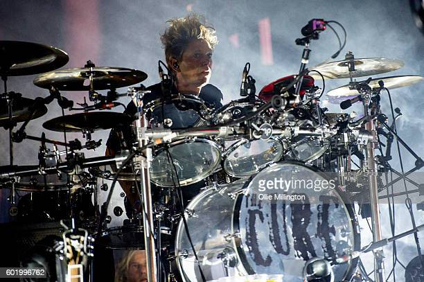 Jason Cooper of the Cure performs onstage headlining day 3 of Bestival 2016 at Robin Hill Country Park on September 10 2016 in Newport Isle of Wight