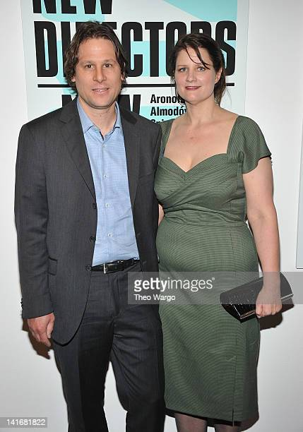 Jason Cortlund and Julia Halperin attends the 2012 New Directors/New Films Opening Night Gala at the Museum of Modern Art on March 21 2012 in New...