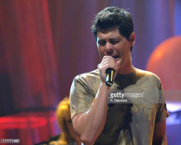 Jason Crabb during 36th Annual GMA Music Awards Rehearsals at Grand Ole Opry House in Nashville Tennessee United States