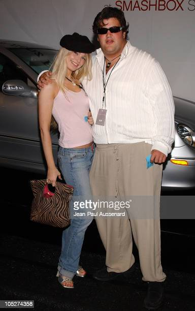 Jason Davis and guest during MercedesBenz Fall 2004 Fashion Week at Smashbox Studios Day 5 Arrivals at Smashbox Studios in Culver City California...