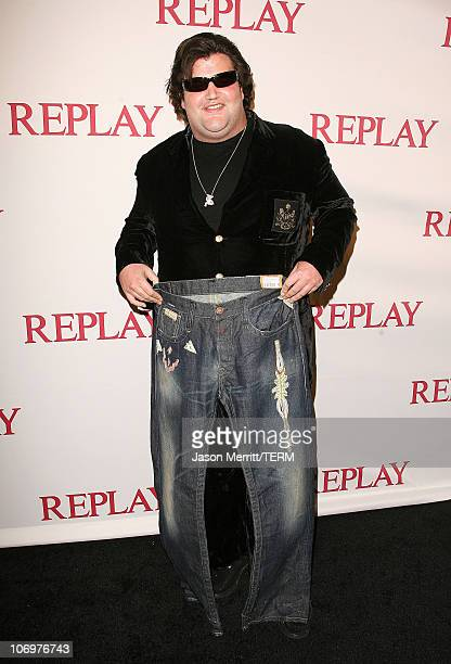 Jason Davis during Brandon Davis and Replay Celebrate The Los Angeles Replay Store Opening and Launch of The Brandon Davis Jean April 24 2006 at...